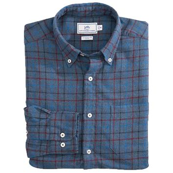 Skysail Plaid Sport Shirt by Southern Tide