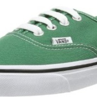 Vans Classic Authentic Green Womens Trainers 8 US