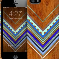 Aztec Arbutus Blue iPhone by House of Jennifer | Nuvango
