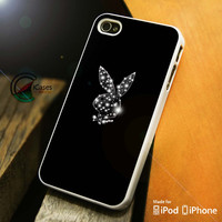 Sparkle Playboy iPhone 4 5 5c 6 Plus Case, Samsung Galaxy S3 S4 S5 Note 3 4 Case, iPod 4 5 Case, HtC One M7 M8 and Nexus Case