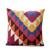Alder Boho Throw Pillow Cover