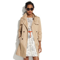 Belted Trench - outerwear - Women's JACKETS & OUTERWEAR - Madewell