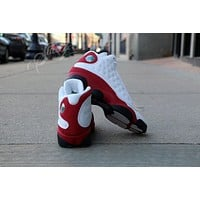 DCCK Air Jordan Retro 13 Cherry Red