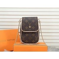 LV Louis Vuitton MONOGRAM CANVAS INCLINED CHAIN SHOULDER BAG