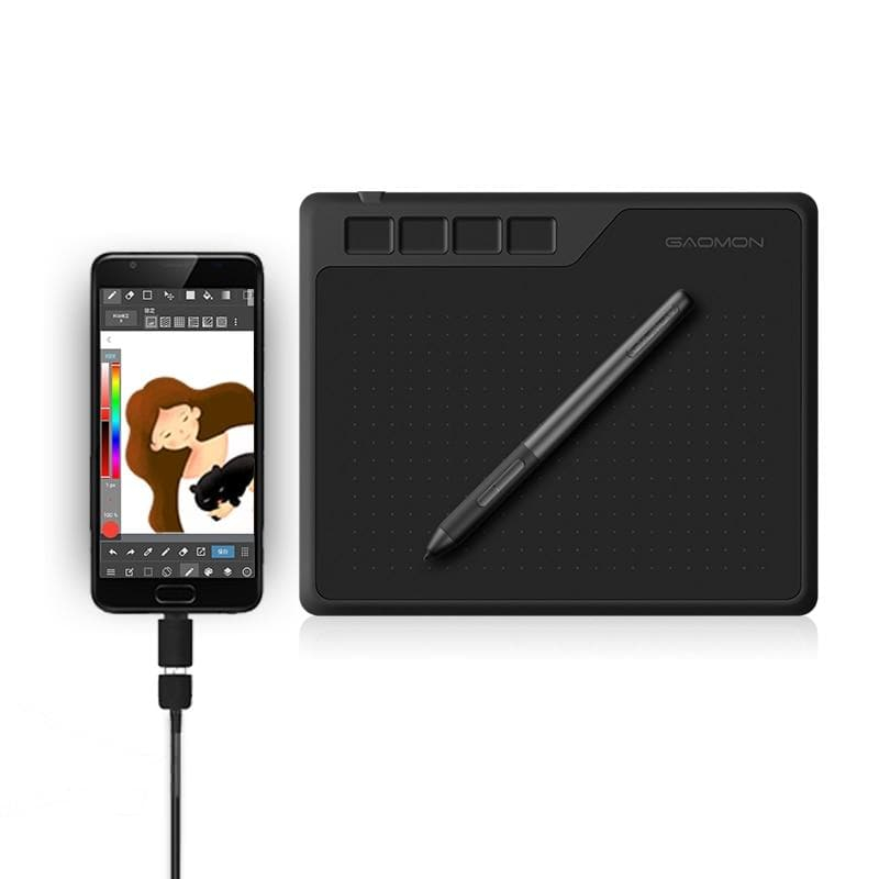 Image of GAOMON S620 6.5 x 4 Inches 8192 Level Battery-Free Pen Support Android Windows Mac Digital Graphic Tablet for Drawing & Game OSU fall 2021
