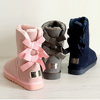 """K S"" Women male Fashion Wool Snow Boots"