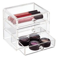 The Container Store > Acrylic 3-Drawer Box