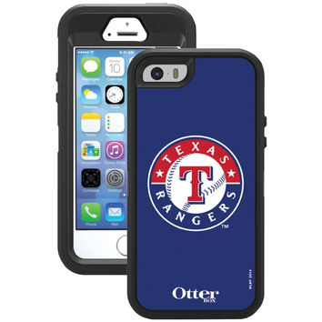 Otterbox Iphone 5 And 5s Defender Series Case With Belt Clip Holster (texas Rangers)