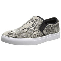 Steve Madden Mens Centrik Snake Print Slip On Fashion Sneakers