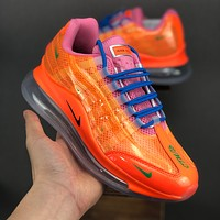 Heron Preston Nike By You Air Max 720/95 Orange Royal Women Running Shoes - Best Deal Online