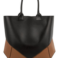 Givenchy - Easy tote in black and tan leather