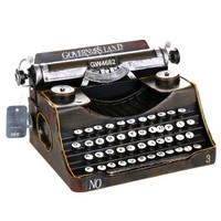ZOVIE® Retro Decoration Classic Manual Iron Typewriter Model (Only for Decoration)