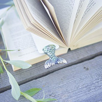 Mermaid Tail Bookmark Ideal Gift For Bookworm and Book Lover Truly Handmade and Crafted With Love Authentic myBOOKmark