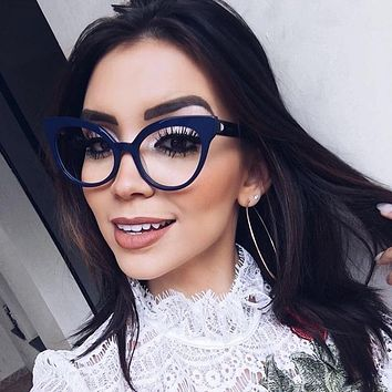 Amanda- Vintage Cat Eye Glasses