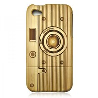 Bamboo iPhone 4/4s Case - Camera