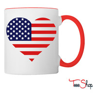 American Heart Coffee & Tea Mug