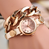 Fashion ladies bracelet table Women watch pendant male men's watches students fashion watches #SHOWNOW# = 1956446212