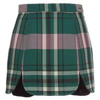 Plaid Mini Skirt | Moda Operandi