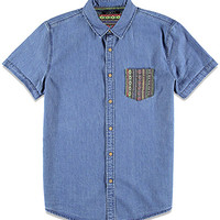 Southwestern Pattern Pocket Shirt