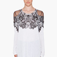 Givenchy Lace Detailed Top for women