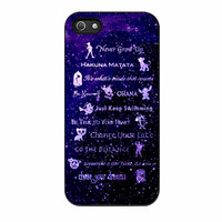 Disney Lessons Learned Mash Up iPhone 5s Case