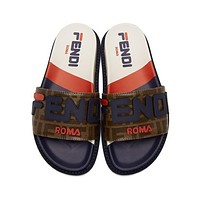 Fendi slippers-1