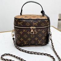 Louis Vuitton LV vanity NANO Speedy Mini Handbag Bag