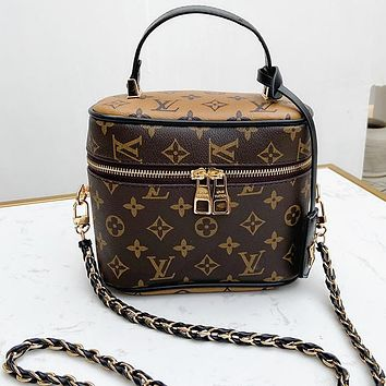 LV Louis Vuitton vanity NANO Speedy Mini Handbag Bag Shoulder Bag