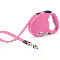 Flexi Durabelt Pink Retractable Belt Dog Leash, X-Small