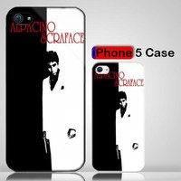 Al Pacino Scarface Action Movie iPhone 5 Case