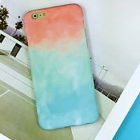 Tie-Dye iphone case for iphone 7 5 5s SE 6 6s 6 plus 6s plus + Nice gift box