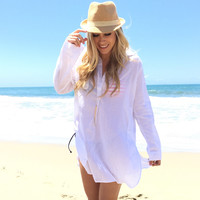 Get Carried Away Tunic Cover Up & Top