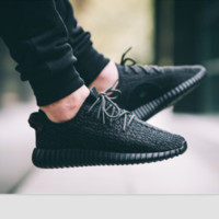 "Yeezy  ""Adidas"" Women  Boost Sneakers Running Sports Shoes"