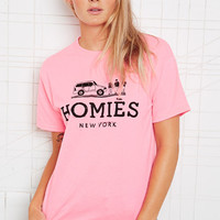Reason Homies Neon Tee at Urban Outfitters