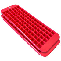 Cubette Mini Ice Cube Trays Set of 2 Red 1