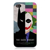 Generic Movie Theme Collection Case For iPhone 4/4S- The Dark Knight Color Black
