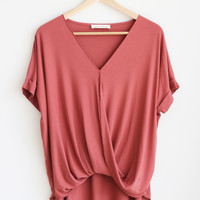 Charlotte Surplus Top - More Colors