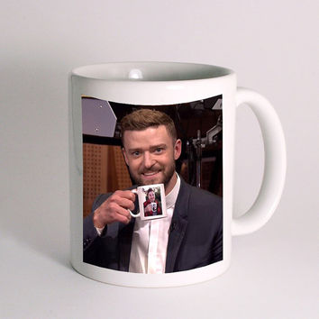 Justin Timberlake & Jimmy Fallon Tea Cup Coffee Mug for Mug Design