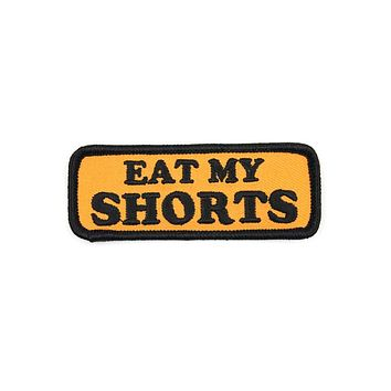 Eat My Shorts Patch
