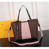 LV Louis Vuitton DAMIER CANVAS HANDBAG INCLINED SHOULDER BAG