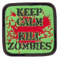 Rothco Keep Calm Kill Zombies Morale Patch