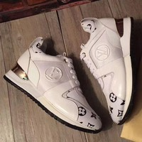 LV Louis Vuitton Woman Trending Casual Sneakers Print Shoes I