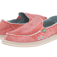 Sanuk Donna Distressed Spiced Coral Sidewalk Surfers