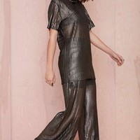 Serpent and the Swan Hard Wear Metallic Pant
