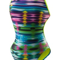 Rainbow Weave Tie Back - Speedo Endurance Lite - Performance - Speedo USA SwimwearSpeedo USA - WOMEN: Shop by Category: Swimwear: Performance: Rainbow Weave Tie Back - Speedo Endurance Lite