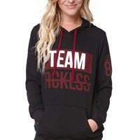 Young & Reckless Holiday Collection Team Reckless 86 Pullover Hoodie - Womens Hoodie - Black