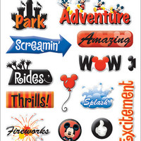 Disney Gems Stickers Packaged - Disney Adventure