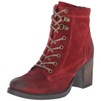Bos. & Co. Womens Basey Suede Waterproof Derby Boots