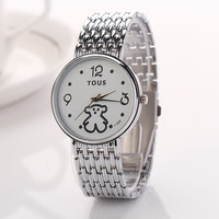 Cute Tous Stainless Steel Watch with Gift Box