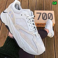Adidas Yeezy 700 Runner Boost Trending Women Men Stylish Sport Running Shoes Sneakers 6#